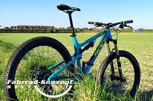 Ihr Mountainbike Fullsuspension auf Sylt.