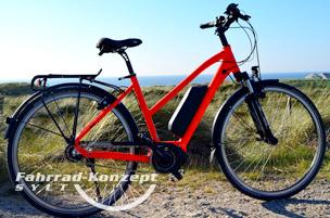 Ihr E-Bike auf Sylt.