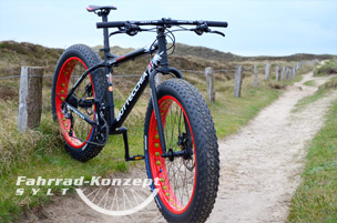 Ihr Fat Bike auf Sylt.